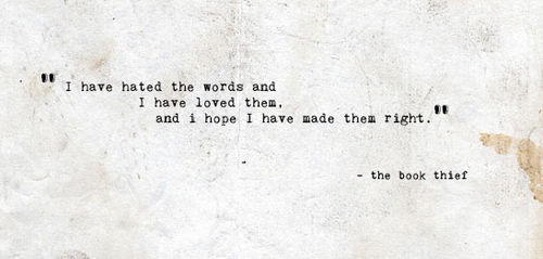 The Book Thief Quotes Entrancing Httpsgreenishbookshelf.files.wordpress2015.