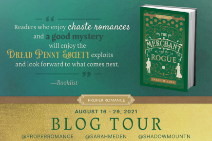 Merchant and the Rogue Blog Tour Banner