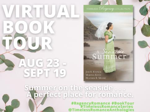 A Seaside Summer Book Tour Banner