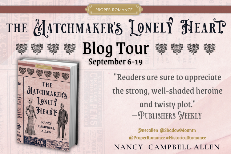 The Matchmakers Blog Tour Graphic